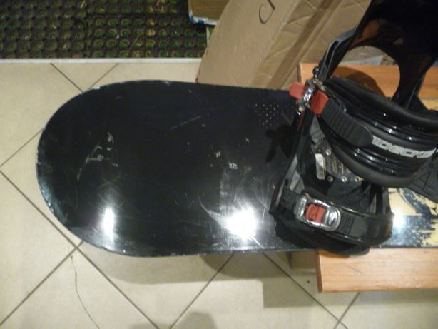 Używana deska snowboardowa Rossignol + wiązania Nidecker 127 cm