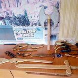 Деревянное орудие