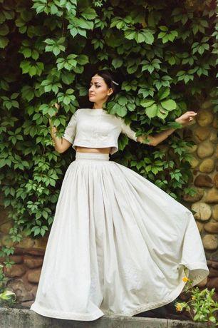 свадебное платье, комплект, весільний комплект, сукня ручної роботи
