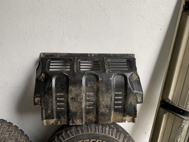 Proteçao de  carter e radiador L200 de 2007 em diante.