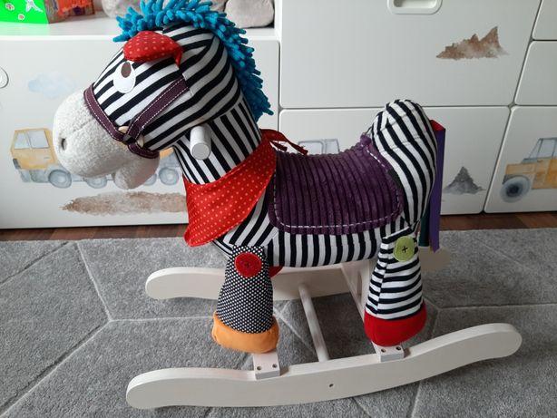 Koń/zebra na biegunach mamas and Papas