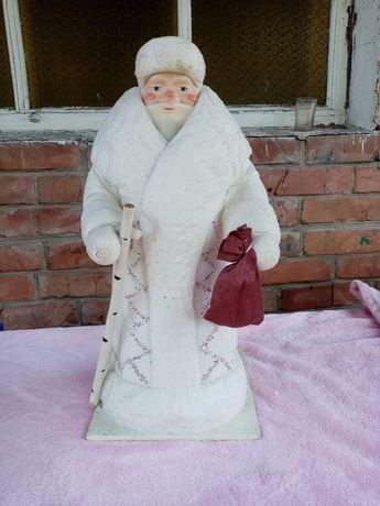 Дед Мороз ватный СССР
