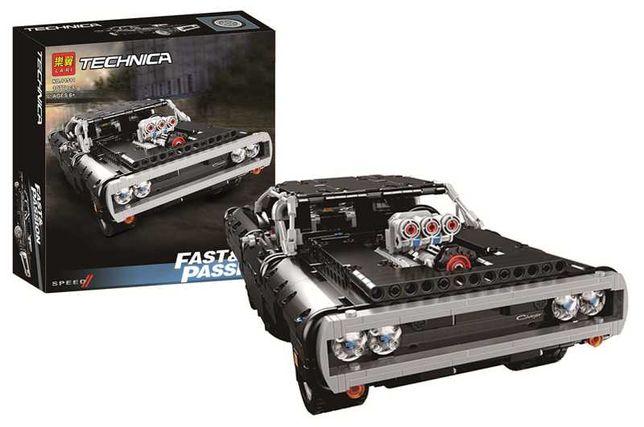Конструктор 11511 TECHNIC Dodge Charger Доминика Торетто, 1077 дт lego