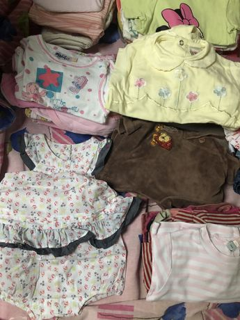 Одяг для дівчинки великим пакетом 3 місяці