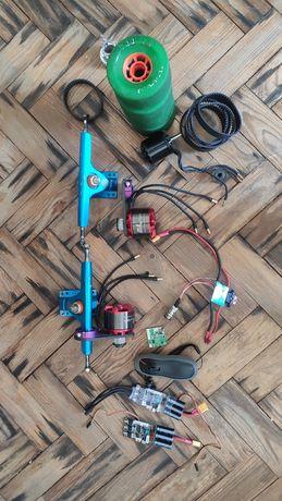 Material Skate Eletrico