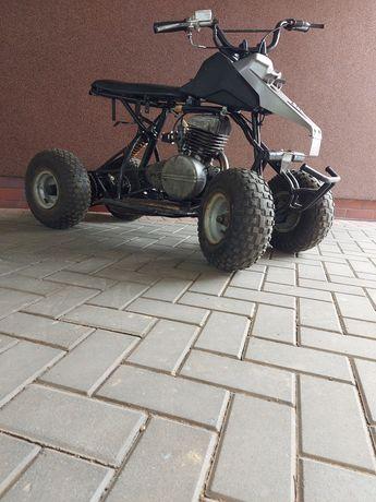 Quad z silnikiem wsk 125