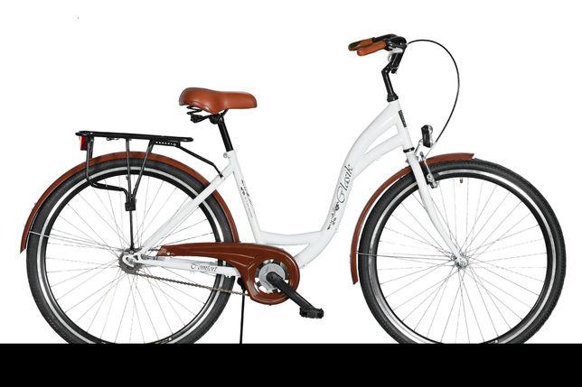 Skradziono rower Dawstar Retro 28 Biały