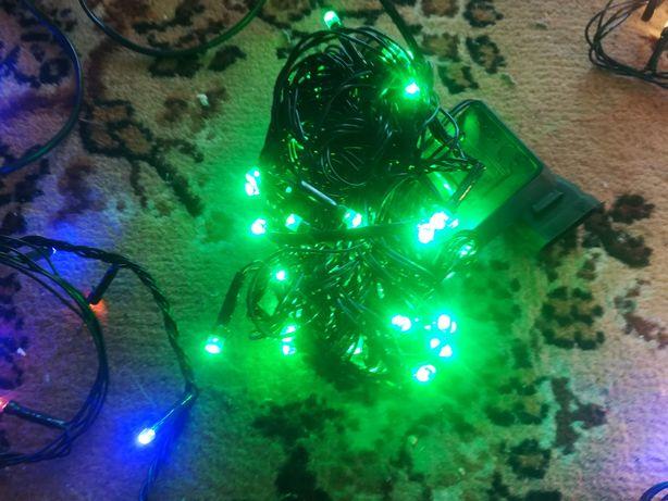 Lampki Led 100szt zielone