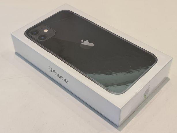 Apple iPhone 11 64GB Czarny/Black - nowy, zafoliowany