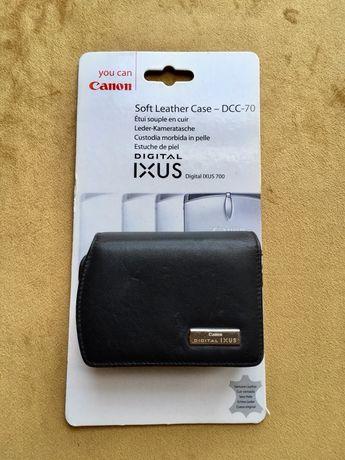 Pokrowiec etui futerał Canon ixus /// skóra
