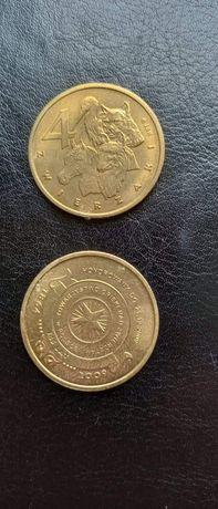 Numizmatyka. Moneta zastępcza 4 Zwierzaki.