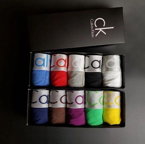 Трусы мужские Calvin Klein комплект в фирменой коробке 5 штук