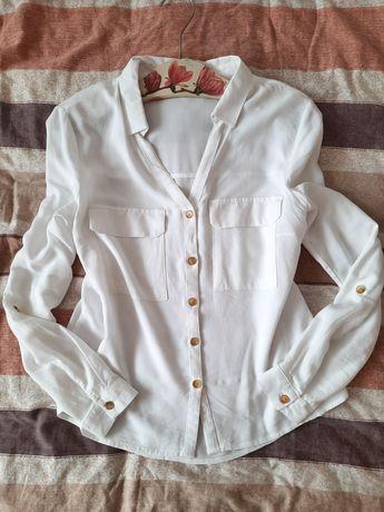 Koszula biała Cropp M 38
