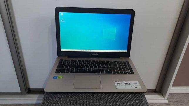 """Laptop Asus A555L 15.6"""" 4gb 120gb Geforce 820M Bat 3godz Win 10!, BDB!"""