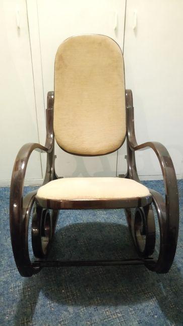Fotel bujany lata 80