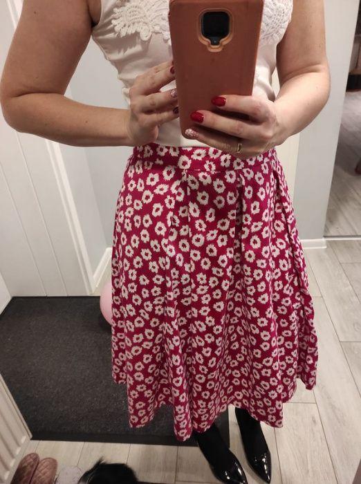 spódnica z kieszonkami fuksja Chełm - image 1
