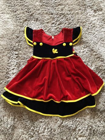 Sukienka królewna Śnieżka 92