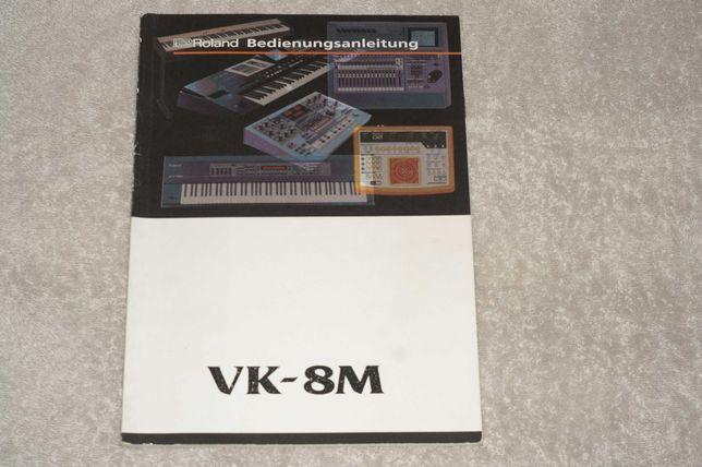 Instrukcja obsługi do modułu organowego Roland VK-8M