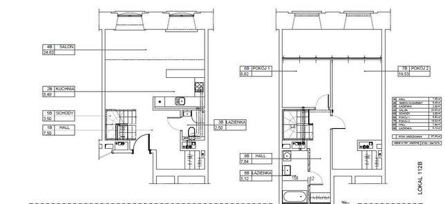 Loft u Scheiblera 88 m2 w Łodzi (stan deweloperski)