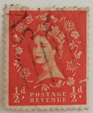 Znaczki pocztowe, Wielka Brytania, Królowa Elżbieta II
