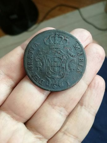 X réis de 1791 (escassa)