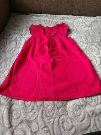Sztruksowa sukieneczka