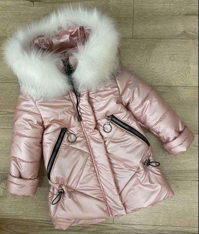 Зимние пальто для девочки