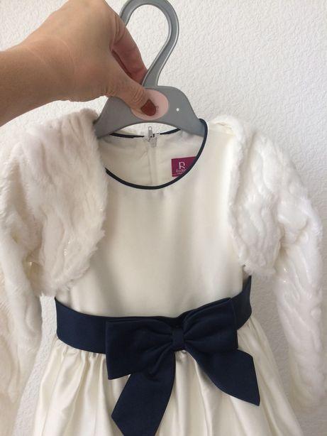 Нарядное платье с болеро на 3 годика