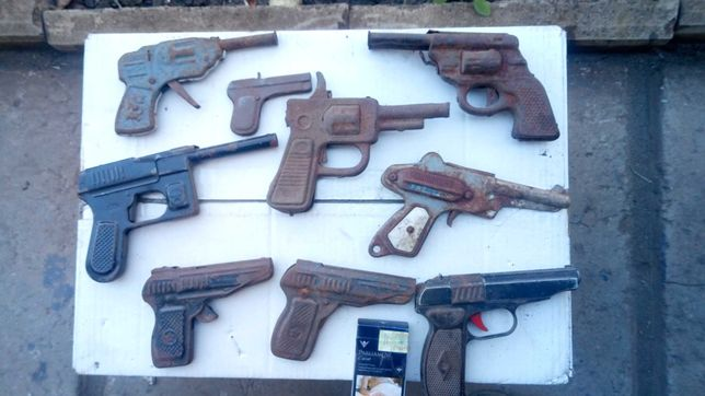 Детские пистолеты СССР