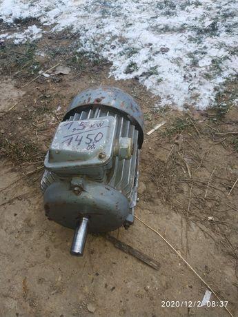 Електродвигун продам 1.5 квт