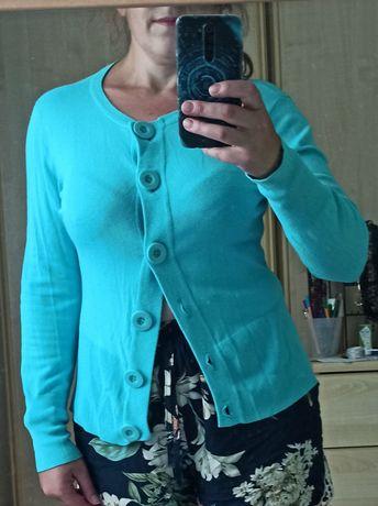 Niebieski sweter r. M
