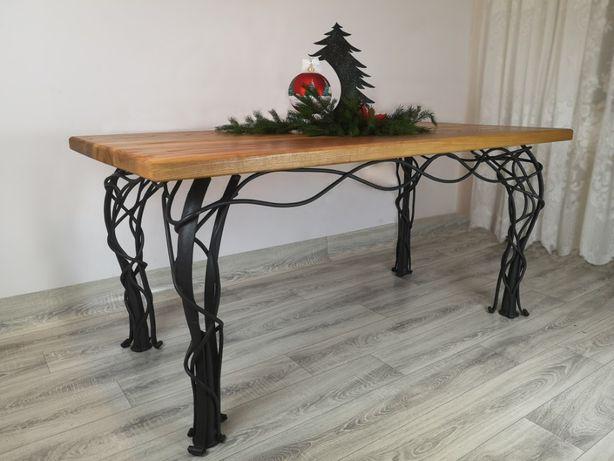 Stół kuty artystyczny