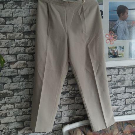 Spodnie eleganckie pas 90 cm