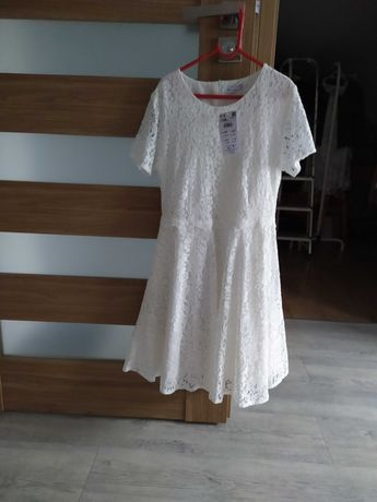 Piękna nowa sukienka Reserved na przebranie np. po Komunii  158