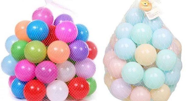 Bolas coloridas - tamanho 5,5cm