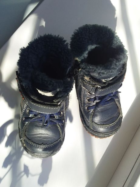 Весенние ботиночки кожзам 21 размер