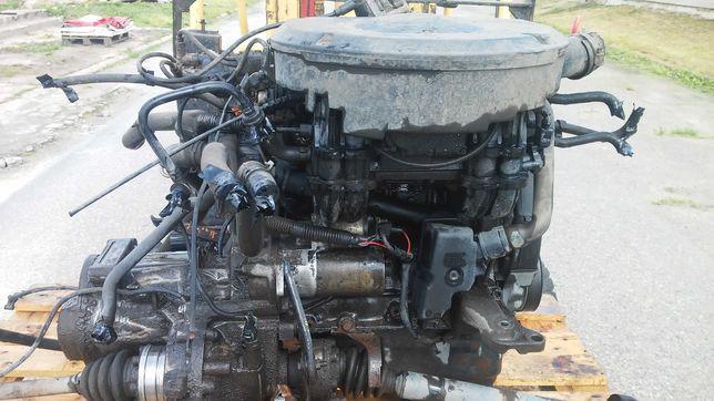 silnik volkswagen , caddy . z skrzynią biegów ,pół osie kompletny