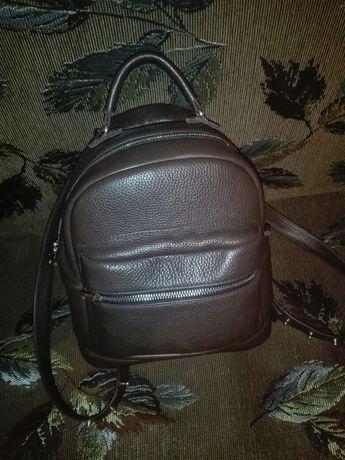 Продам рюкзак трансформер из натуральной кожи