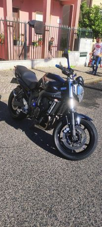 Yamaha fz6 s2 back edition