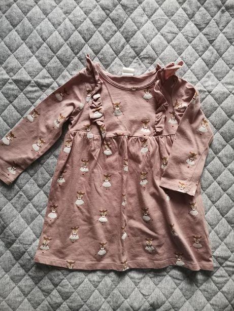 Sukienka H&M rozm. 80