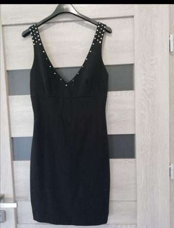 Sukienka mala czarna r S Zara ćwieki