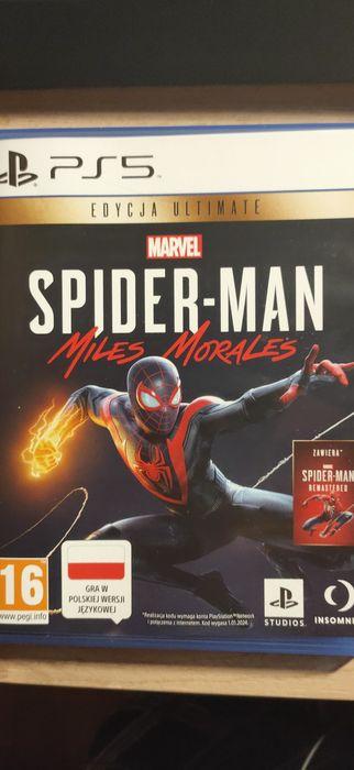Spiderman Miles Morales ps5 sprzedam lub zamienię Kamień Krajeński - image 1