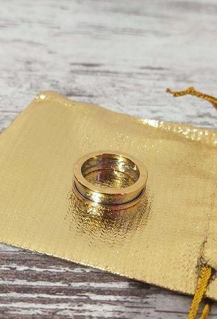 """Bvlgari. Женское стильное кольцо """"Bvlgari'- римские цифры"""