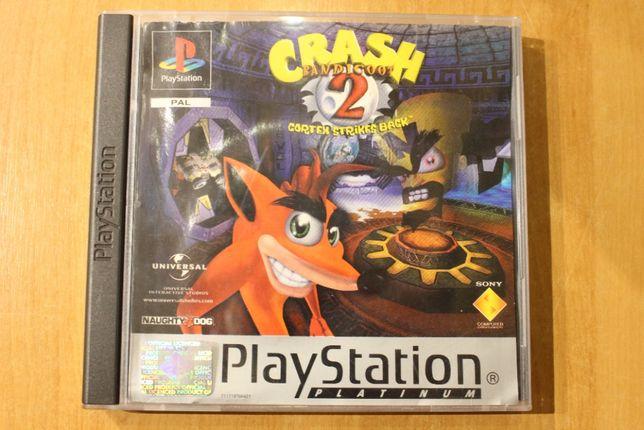 Gra Crash Bandicoot 2 Unikat ps1,psx,ps one
