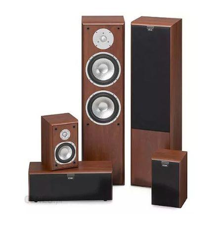 Amplituner Denon AVR-1509 głośniki Eltax kino domowe