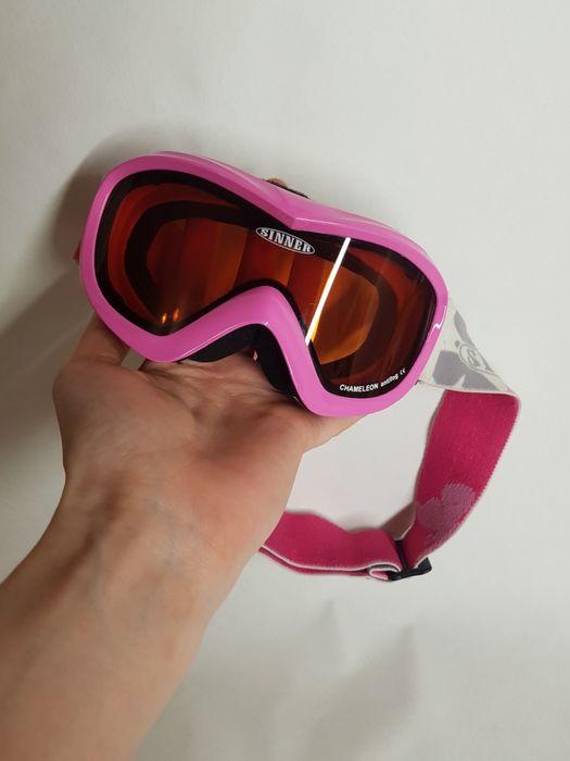Маска/ лыжные очки sinner chameleon antifog юниорские Киев - изображение 1