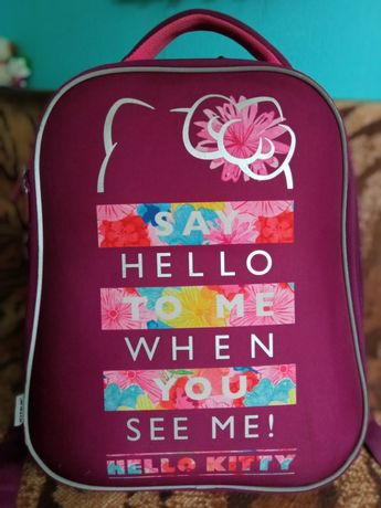 Рюкзак школьный каркасный Hello Kitty KITE 531M