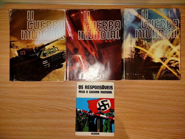 Livros política, guerra do ultramar, segunda guerra mundial