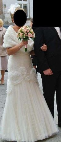 Oryginalna suknia ślubna tanio okazja