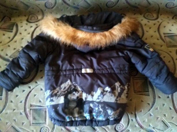 Зимняя куртка аляска 104-110 см
